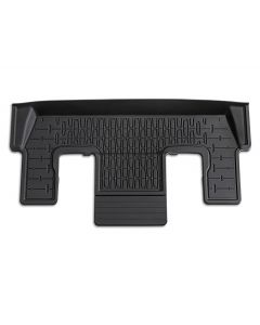 Floor Mats - All-Weather, Black, For 3rd Row, Without Console